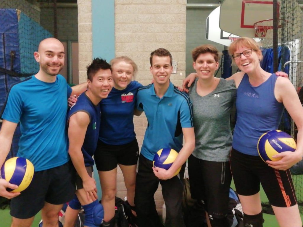 Keizer Karel Homocompetitie Utrecht team 2 volleybal